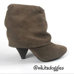 Steve Madden Carlsen Suede Slouch Boot / Booties